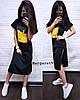 Стильное платье с разрезами по бокам, размер единый 42-48, фото 5