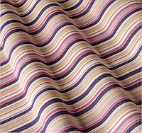 Ткань для улицы в тонкую полоску фиолетовый сиреневый. Дралон. Испания LD 83411 v2