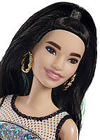Кукла Барби Модница в голограммном платье Barbie Fashionistas Doll 110