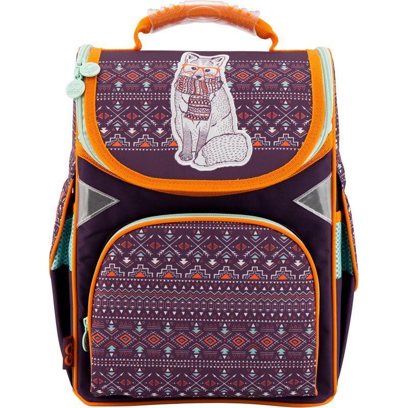 04857a492c13 Рюкзак школьный каркасный Gopack GO18-5001S-4: купить по лучшей цене ...