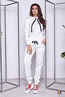 Спортивный костюм модный женский 2019 цвет: Белый, размер: S-L