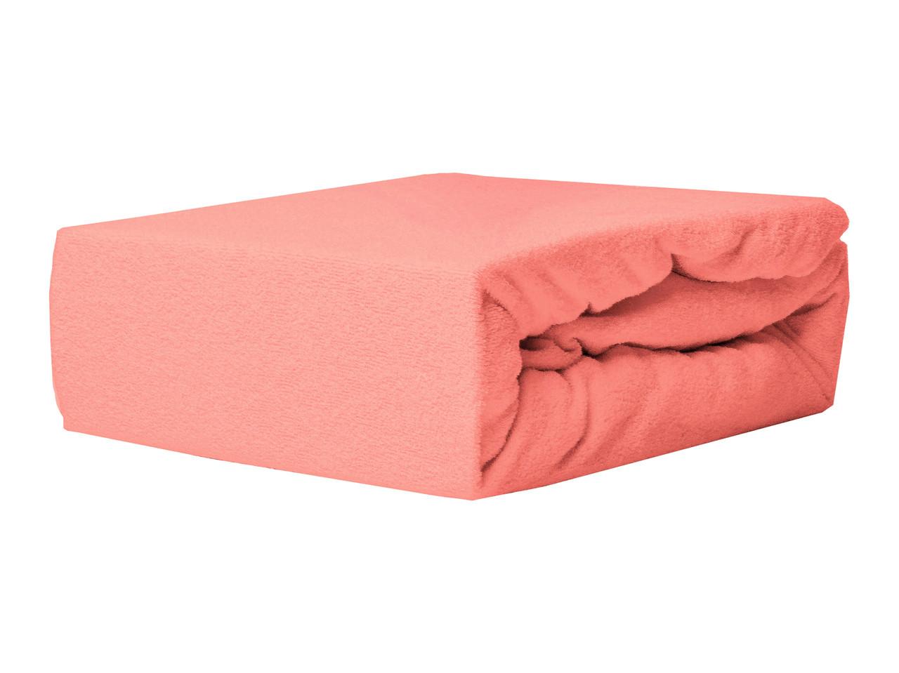 Простыня Махровая На резинке NR 012D Darymex 4974 80x160 см Розовая
