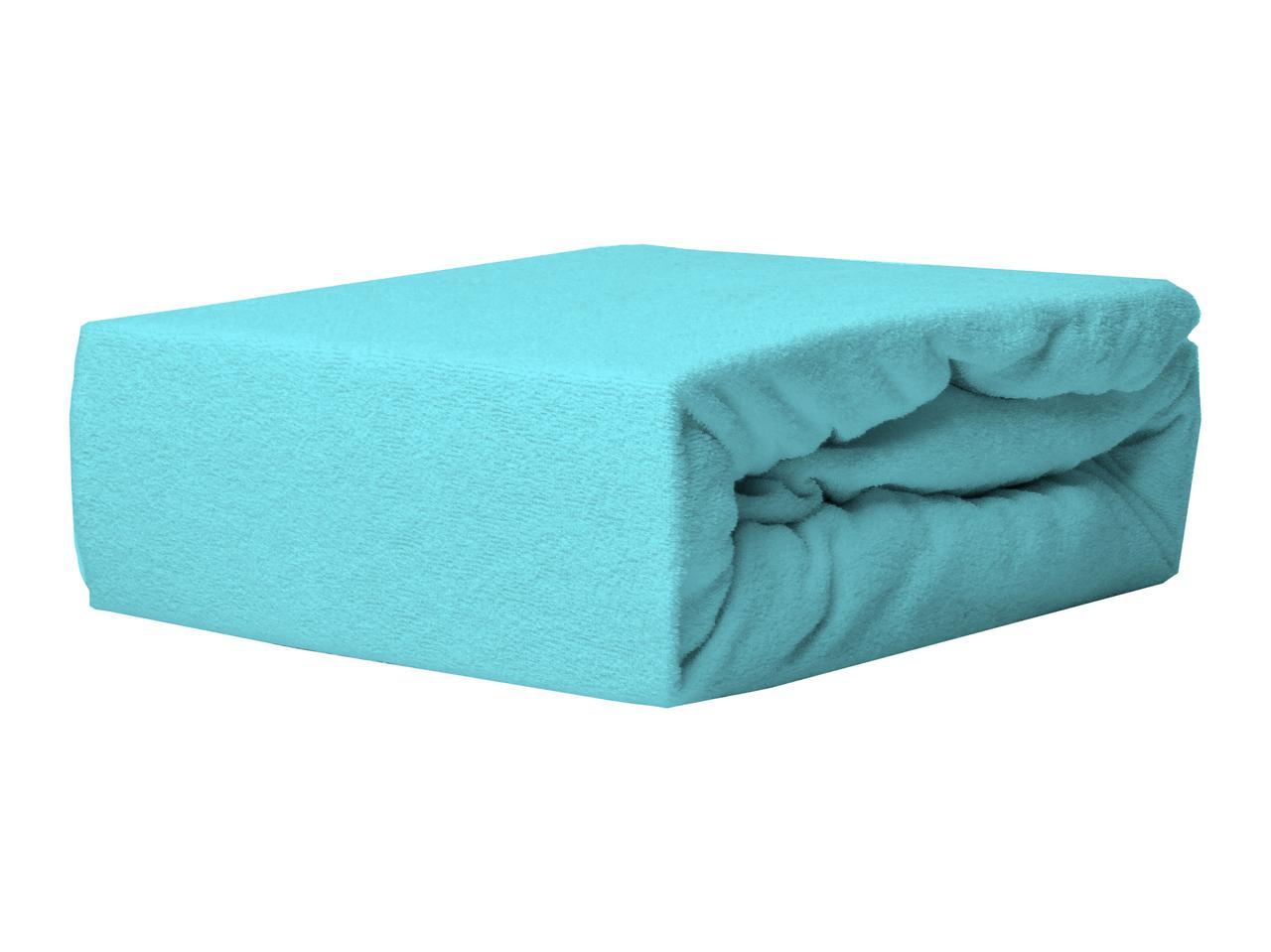 Простыня Махровая На резинке NR 011D Darymex 8803 60x120 см Синяя