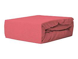 Простыня Махровая На резинке NR 038 P.P.H.U. J&M 6108 140x200 см Красная
