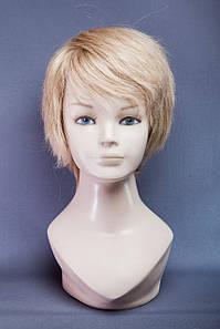 Натуральный парик №14, Цвет пшеничный