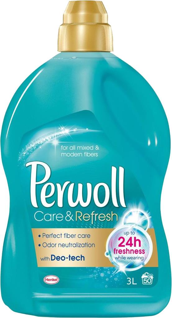 """Гель для стирки Perwoll """"Care & Refresh"""" Уход и освежающий эффект (3л.)"""