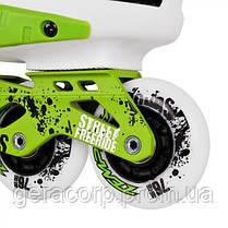 Фрискейт роликовые коньки Tempish Cronos зеленые, фото 2