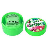 Жвачка для рук Puff Slime 90 г - зеленая (PS-1886), фото 1