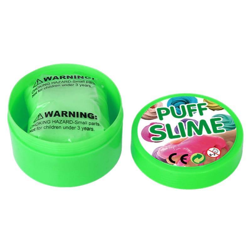 Жвачка для рук Puff Slime 90 г - зеленая (PS-1886)