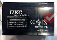 Аккумулятор гелевый UKC 12V 7A, аккумулятор (УКС) 12 вольт 7,2 Ампер в час