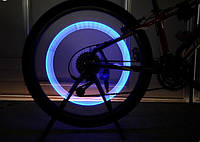 LED подсветка на колесо велосипеда, 1 шт в компл с батарейками