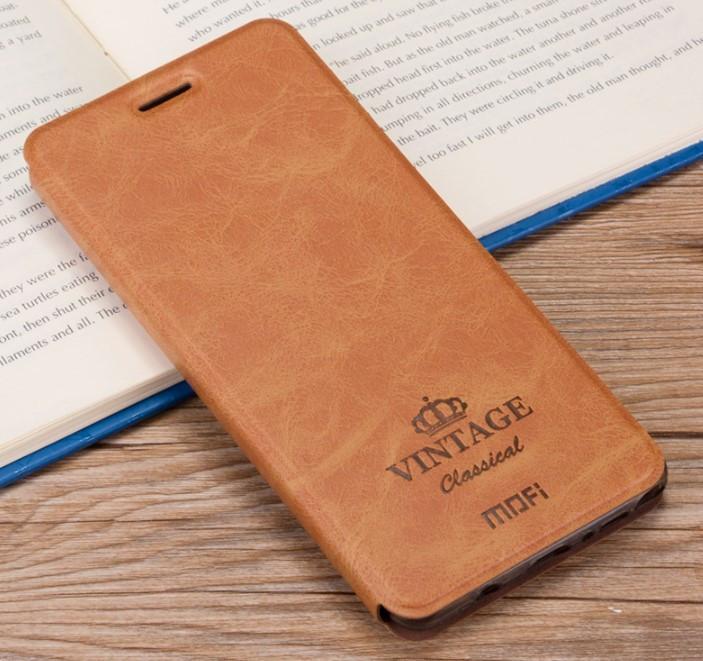 Чехол-книжка MOFI Vintage Series для Samsung Galaxy S8 Plus (G955) brown