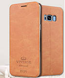 Чехол-книжка MOFI Vintage Series для Samsung Galaxy S8 Plus (G955) brown, фото 2