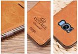 Чехол-книжка MOFI Vintage Series для Samsung Galaxy S8 Plus (G955) brown, фото 3
