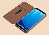 Чехол-книжка MOFI Vintage Series для Samsung Galaxy S8 Plus (G955) brown, фото 4
