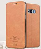 Чехол-книжка MOFI Vintage Series для Samsung Galaxy S8 Plus (G955) gray, фото 2