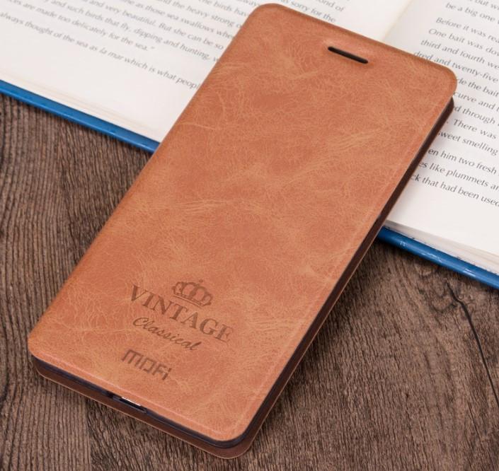Чохол-книжка MOFI Vintage Series для Xiaomi Redmi 6 brown