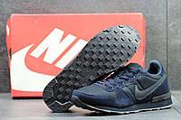 Мужские кроссовки Nike темно синие 2540
