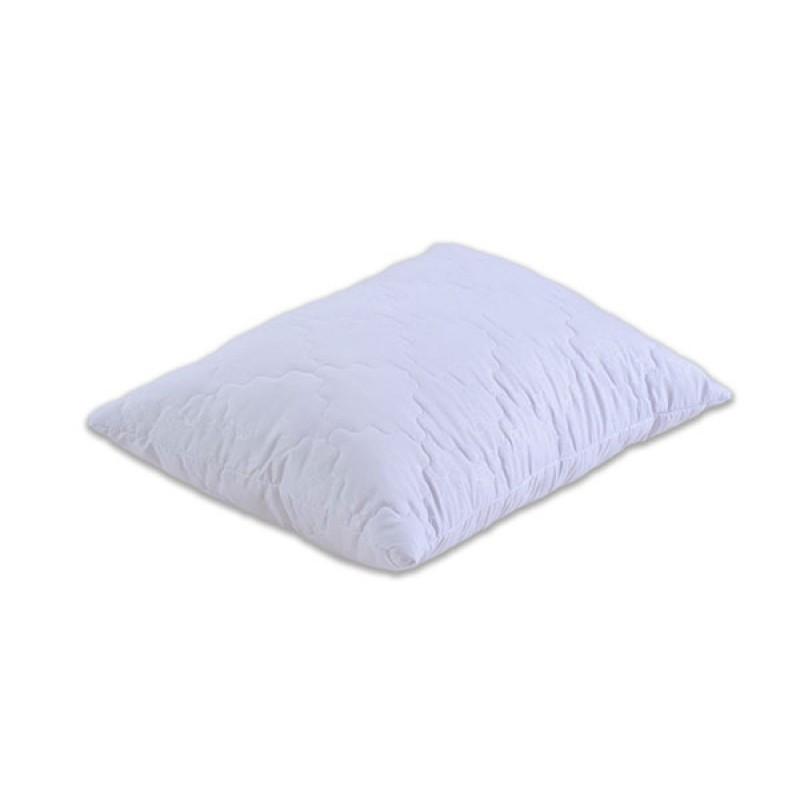 Подушка Акционная. Шариковый силикон стёганая. микрофибра 60х60 см. белая