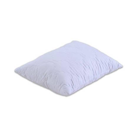 Подушка Акционная. Шариковый силикон стёганая. микрофибра 60х60 см. белая, фото 2