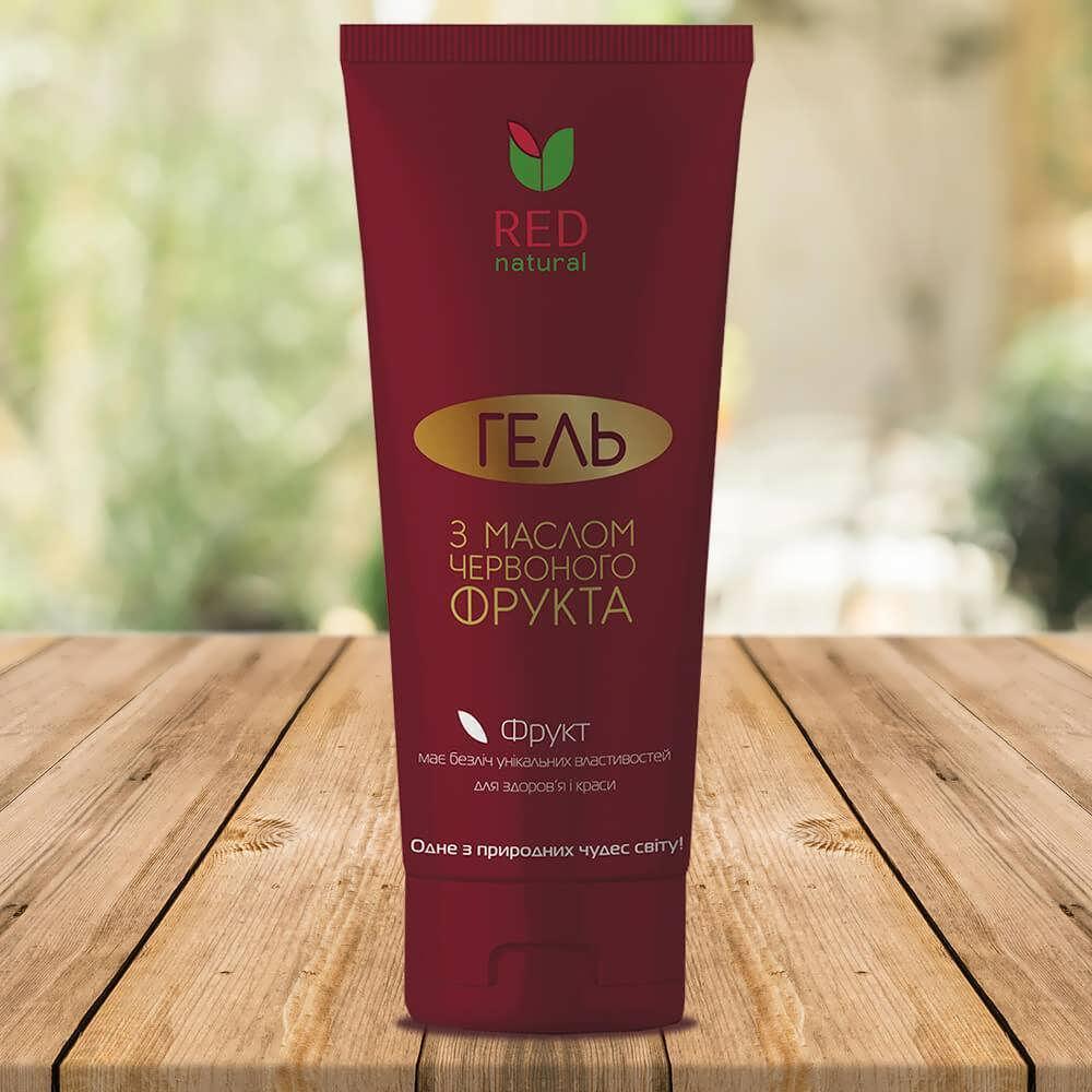 """Гель для душа """"Red natural"""" с маслом красного фрукта (200 мл)"""