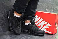 Мужские кроссовки черные Nike Air Max 98 Off White 7056