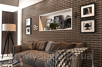 Brickstyle-Коллекция  клинкер The Strand Brown КРИСТАЛЛ, фото 2