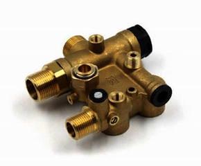 Корпус клапана трехходового Italtherm Time для двухконтурных газовых обогревателей 510000617, фото 2