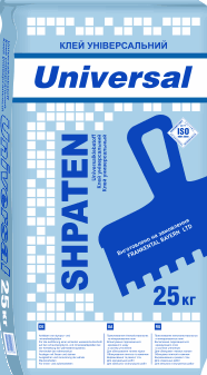 """Клей для пенопласта и мин ваты """"Shpaten universal"""""""