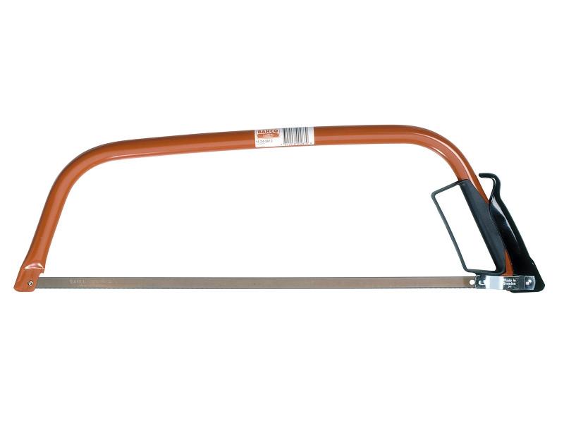 Лучковая пила по металлу (для пиления вентиляционных труб, арматуры, стальных труб), BAHCO  14-24-3810