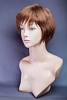 Натуральный парик №14, цвет темно-русый