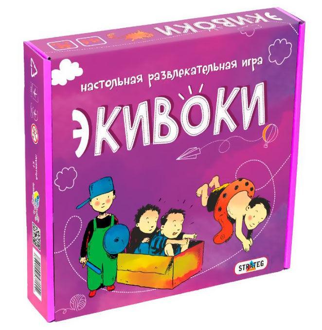 Гра настільна Strateg 12 Еківокі 112 картки