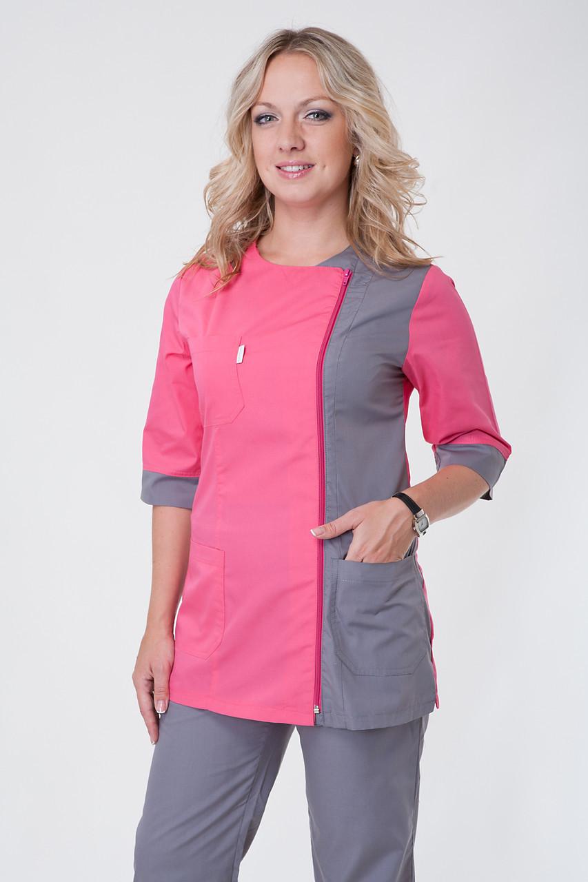 Медицинский костюм женский 2249 ( батист 40-60 р-р )