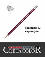 Карандаш графитный F, Cretacolor