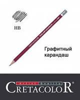 Карандаш графитный НB, Cretacolor