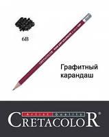 Карандаш графитный 6B, Cretacolor
