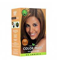 Краска для волос на основе натуральной хны Color Mate 75 г. Золотисто-коричневый цвет. 9.4