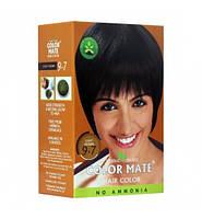 Краска для волос на основе натуральной хны Color Mate 75 г. Светло-Коричневый Цвет 9.7