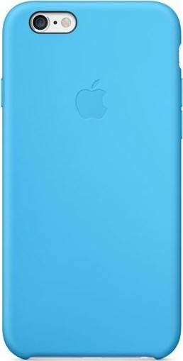 Накладка чехол SILICONE CASE на iPhone 6 Plus REPLICA голубой.