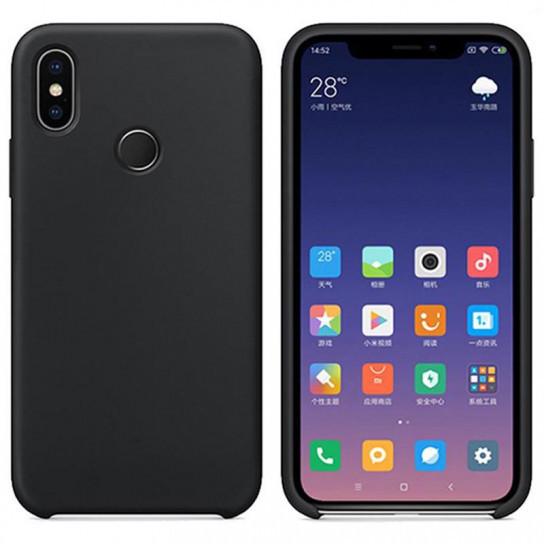 Силиконовый чехол Epik Deen Silicone Case для Xiaomi Redmi Note 5 Pro / Note 5 (DC) Черный