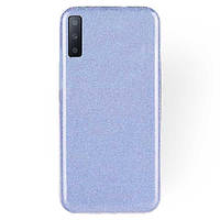 TPU чехол Epik Shine для Samsung A750 Galaxy A7 (2018) Голубой
