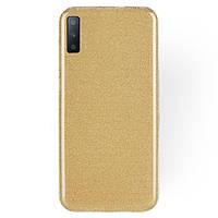 TPU чехол Epik Shine для Samsung A750 Galaxy A7 (2018) Золотой