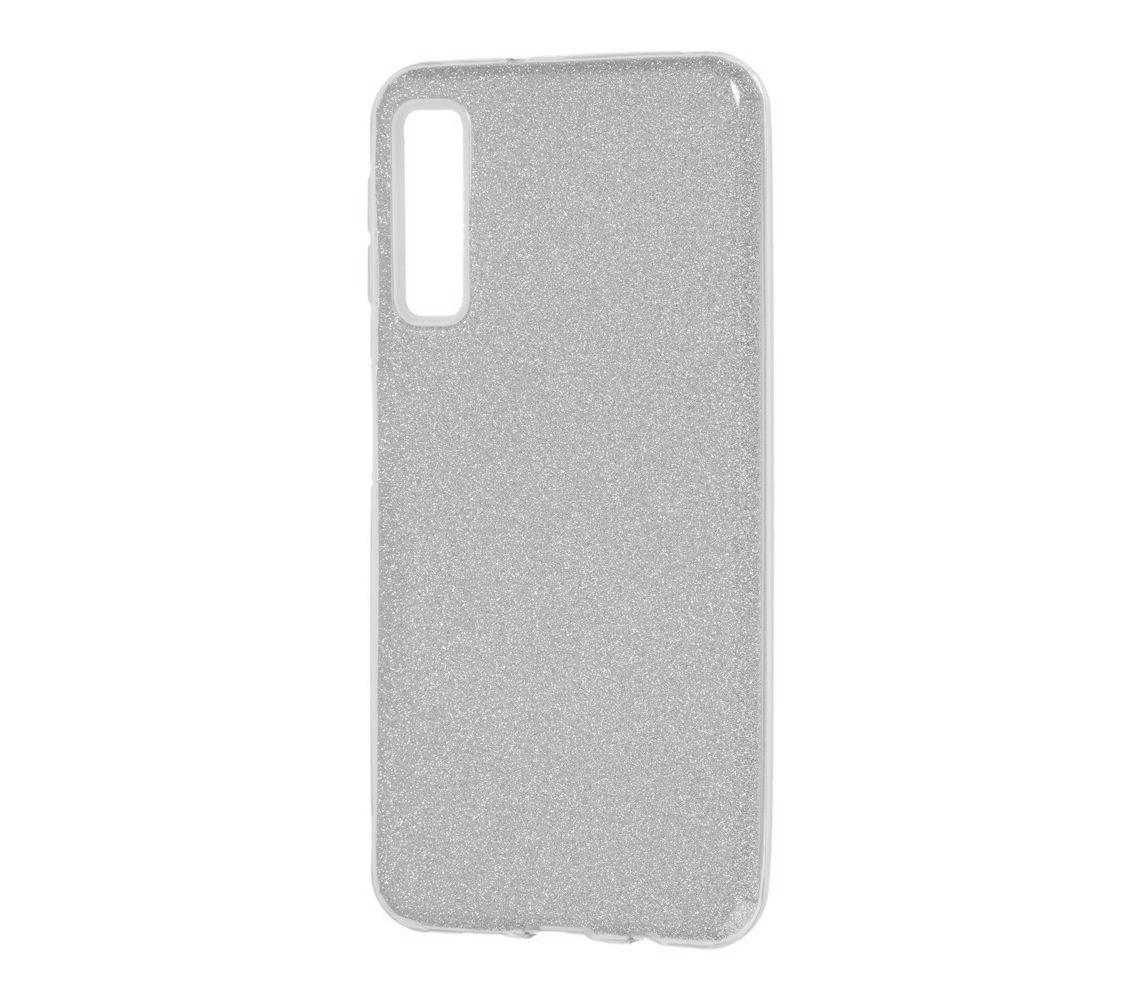 TPU чехол Epik Shine для Samsung A750 Galaxy A7 (2018) (цвет Серебряный)