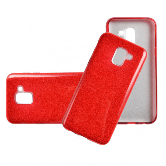 TPU чехол Epik Shine для Samsung J600F Galaxy J6 (2018) Красный