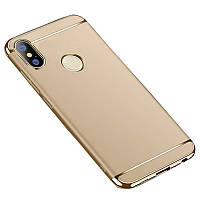 Чехол Epik Joint Series для Xiaomi Mi Max 3 Золотой