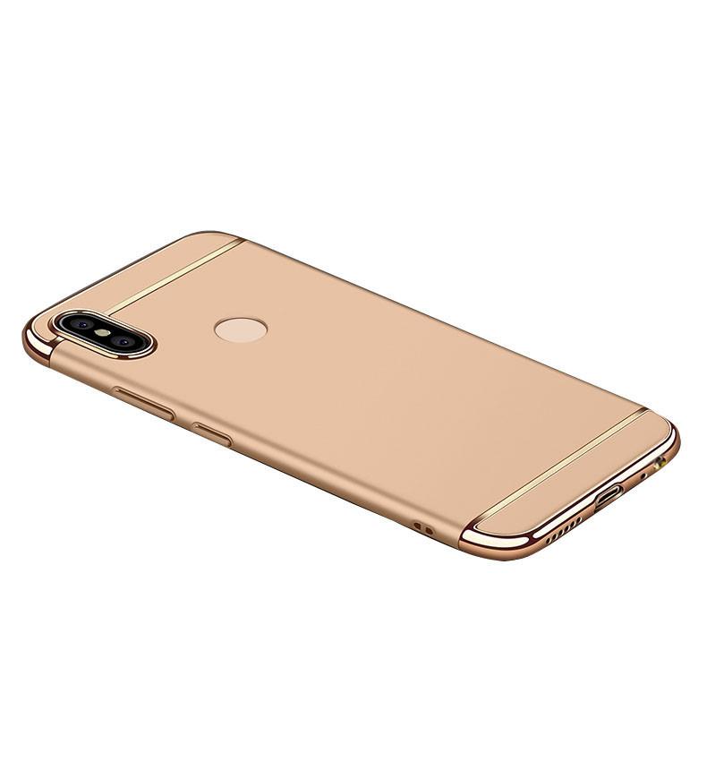 Чехол Epik Joint Series для Xiaomi Redmi Note 5 Pro / Note 5 (DC) Золотой