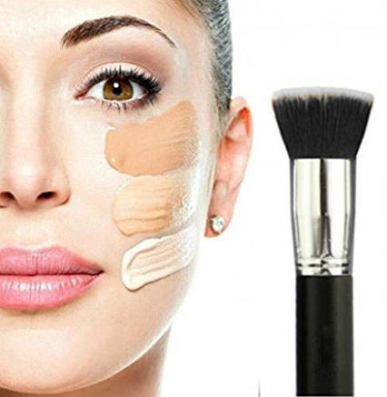 Кисть для макіяжу Vinmax для змішування рідких полірування, нанесення пудри, коректора, фото 2