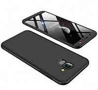 Пластиковая накладка GKK LikGus 360 градусов для Samsung J600F Galaxy J6 (2018) Черный