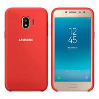 Оригинальный силиконовый чехол Samsung для Samsung J400F Galaxy J4 (2018) Красный
