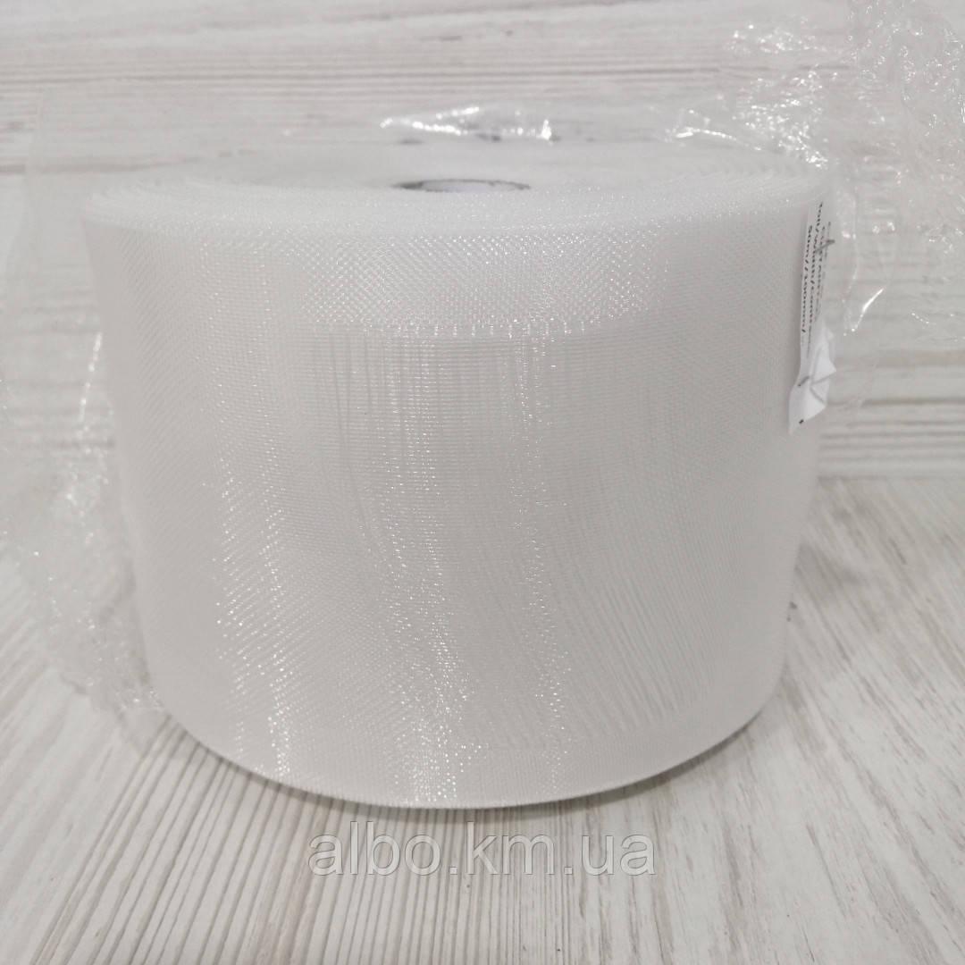Трубная лента (тесьма), ширина 10 cm, моток 50 м (для штор, занавесок, тюли)